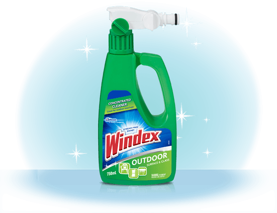 Windex® Outdoor Surface and Glass Cleaner Front